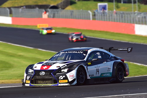 Albert Costa - Marco Seefried - Christian Klien, Lexus RC F GT3, Blancpain GT Series Endurance Cup, Silverstone 2018