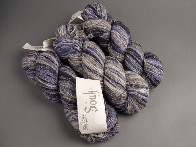 Destash yarn: Cascade Souk Silk Wool blend yarn, aran/worsted weight 100g – 03 Denim Blue