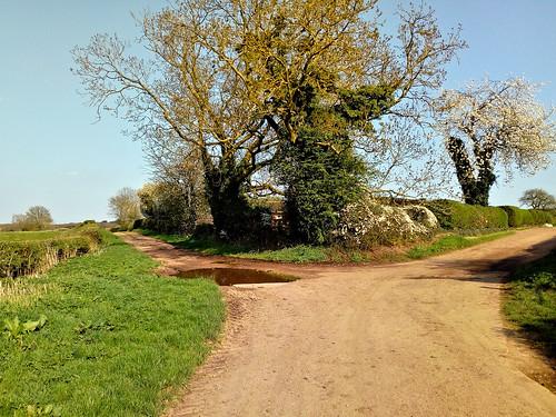 The Water Lane farm track