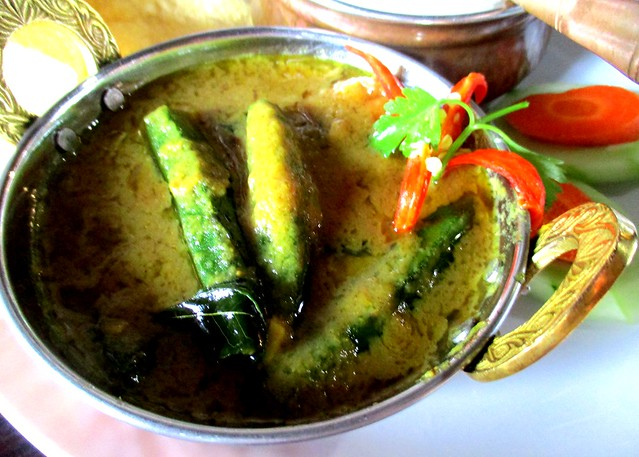 Cafe IND Indian fish curry
