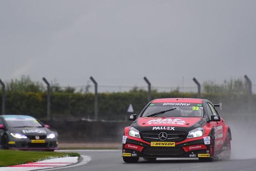 Adam Morgan, Mercedes Benz A-Class, British Touring Car Championship, Donington Park 2018