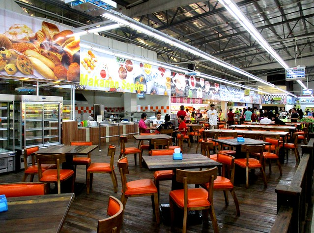 Country Grocers, seating area