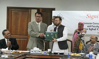 ICRS Sign an MoU with Faculty of Arabic and Islamic Studies, Allama Iqbal Open University