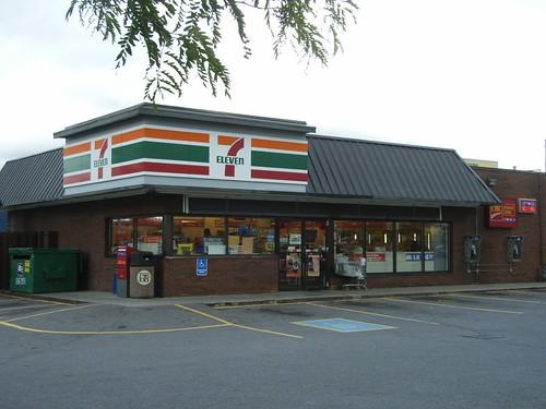 A 7 Eleven In Western Ottawa At The Corner Of Richmond