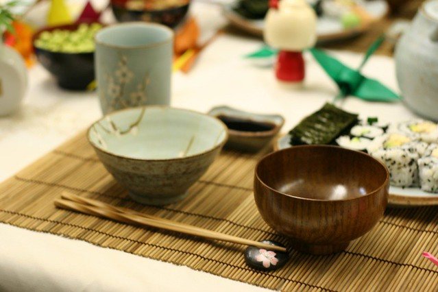 traditional japanese table setting | knife_and_fork | Flickr