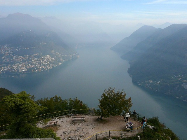 view from mt san salvatore lugano switzerland jessica gardner flickr. Black Bedroom Furniture Sets. Home Design Ideas