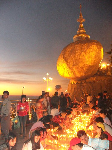 Golden Rock Myanmar Burma Kyaikhtiyo 03 | Flickr - Photo Sharing!