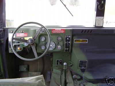 Humvee interieur | Driversite vieuw | Hummer-offroad | Flickr