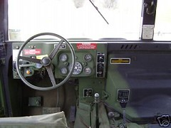 humvee interieur by hummer offroad