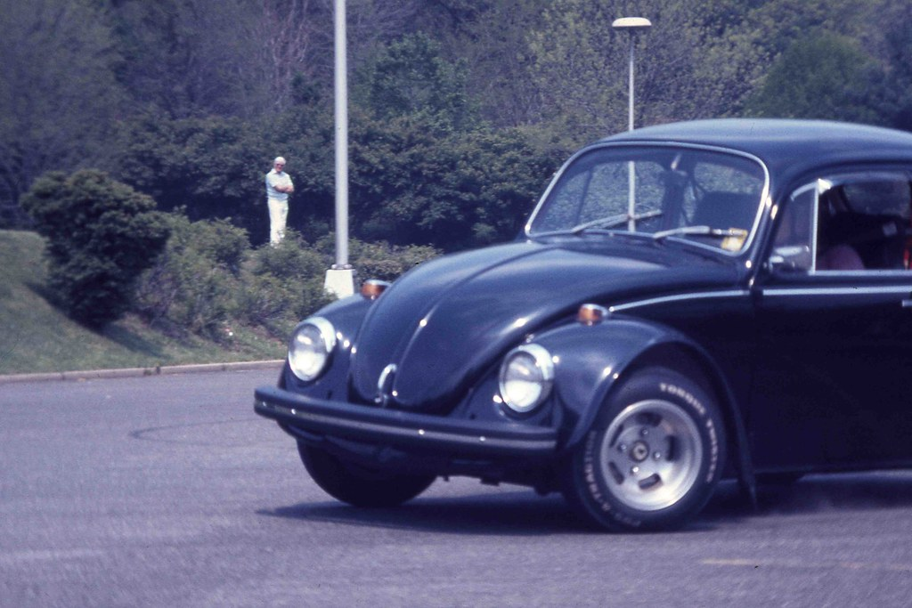 Modified Vw Beetle Autocrossing 02may76 Old York Road