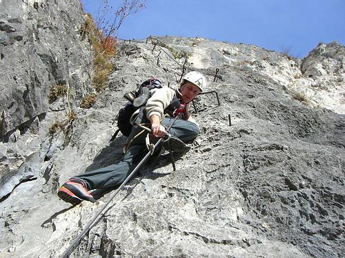 Maximilian Klettersteig : Zirl kaiser maximilian klettersteig herbert vigl flickr