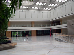 Interior of Huawei Technologies Headquarters at Shenzhen