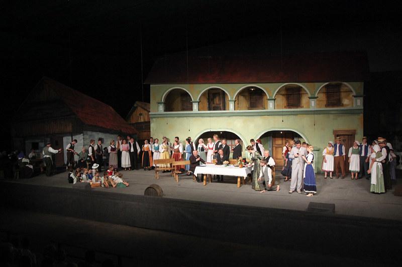 Domača predstava - V Ljubljano jo dajmo