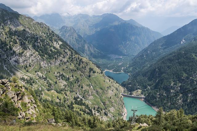 Lago di Campliccioli e Lago di Antrona