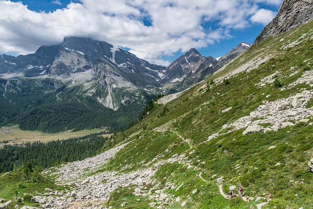 Salendo al Lago Bianco - Alpe Veglia