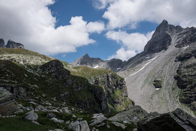 Vista su Pizzo Moro - Alpe Veglia