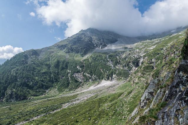 Anello delle dighe della Valle Antrona -  Diga Campiccioli – Diga di Camposecco – Diga del Cingino