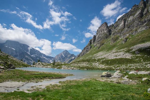 Lago Bianco e le Piodelle - Alpe Veglia