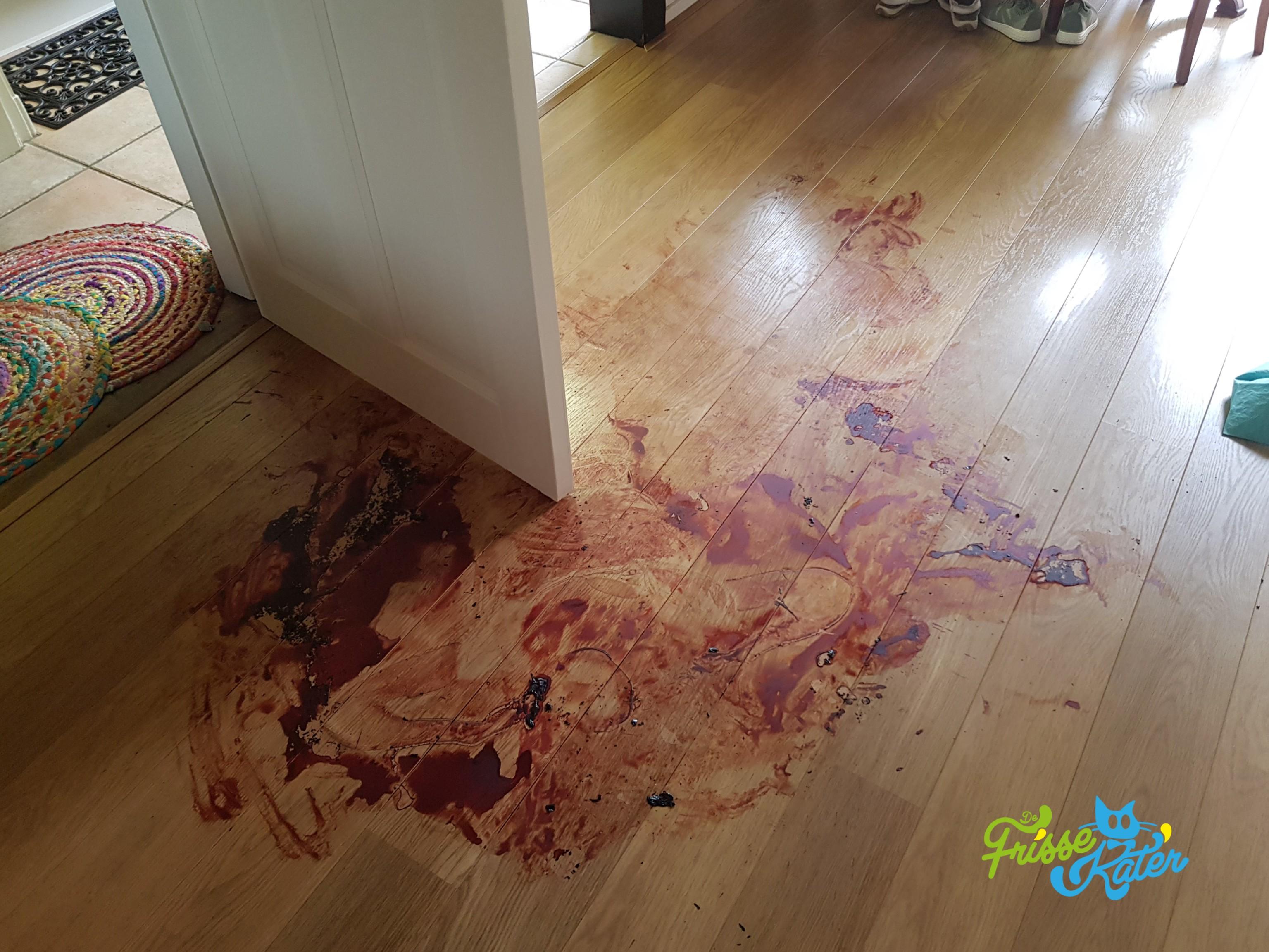 Bloed verwijderen en schoonmaken