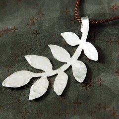 leaves pendant | by simone-walsh