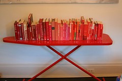 Ironing Board as a Bookshelf - Powder Coat it! | by ninahale