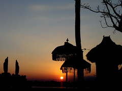 Sunset @ Muara Perancak (again) | by hartanto