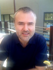 Nick Denton at Barney's in Berkeley | by scriptingnews