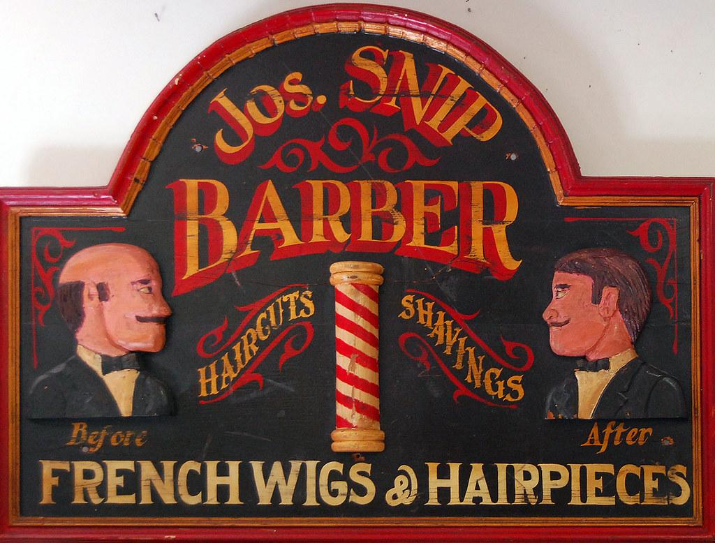 Antique barber shop signs - Barbershop Sign By Paul Keleher Barbershop Sign By Paul Keleher