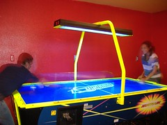 Air hockey times 2 | by posixeleni