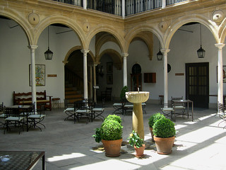 Interior courtyard of the Úbeda Parador | by david__jones