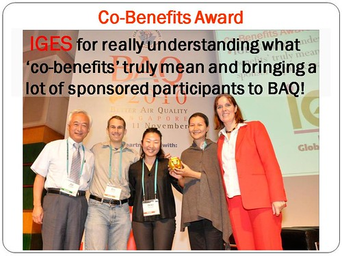 BAQ Awards IGES | by Clean Air Asia