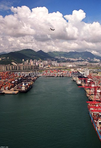 Kwai Chung Container Terminal (small part of it) | by Daryl Chapman Photography