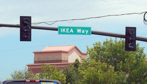 Ikea way in minnesota 27 aug 2004 street sign of ikea for Ikea bloomington minnesota