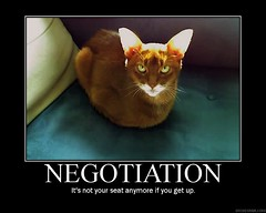 Demotivator - Negotiation | by hypno_bedhead