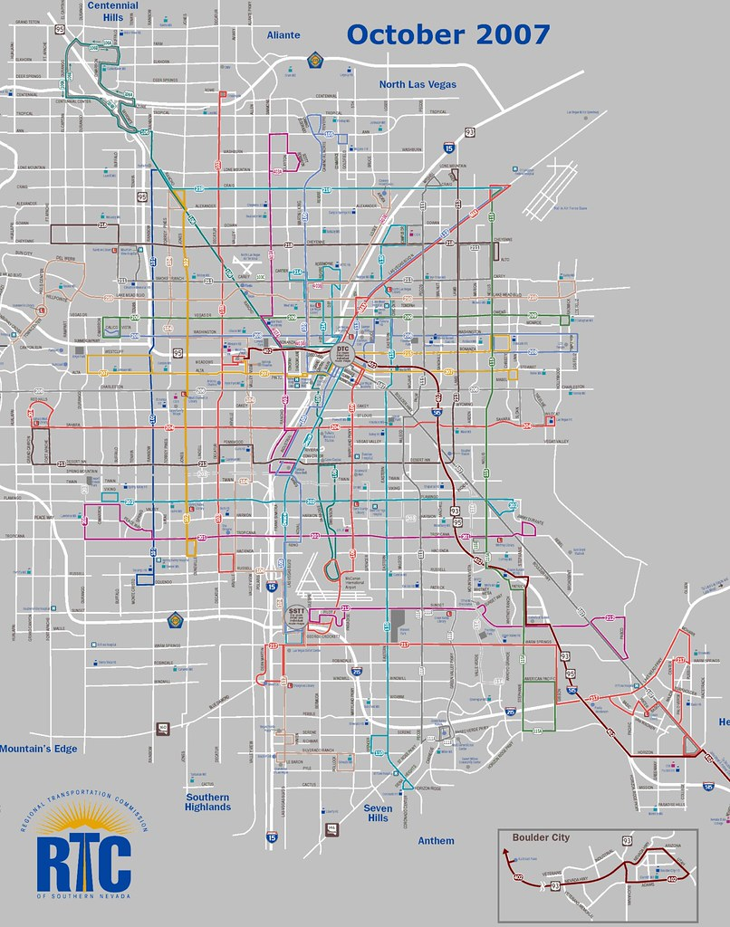 las vegas bus routes 2007 | click comment 1 to view 2114 x 2… | flickr