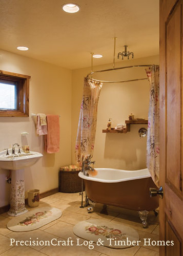 bathroom in a custom milled log home located in utah s m 15103 | 1417286941 7790cb8d5f