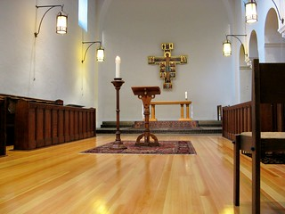 Monastic church with new floor | by Randy OHC