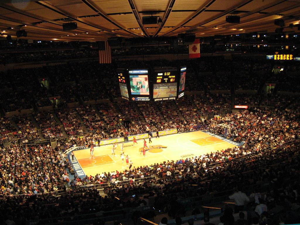... Madison Square Garden   New York Knicks | By Kristinu0026Joe