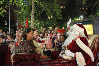 Santa has arrived | by City of Sydney