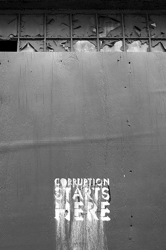 Corruption Starts Here. | by IntangibleArts