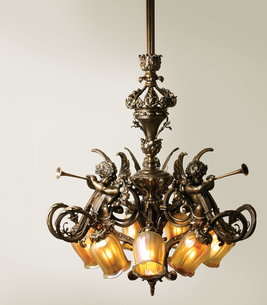 French baroque chandelier nine light chandelier with intri flickr french baroque chandelier by house of antique hardware aloadofball Image collections