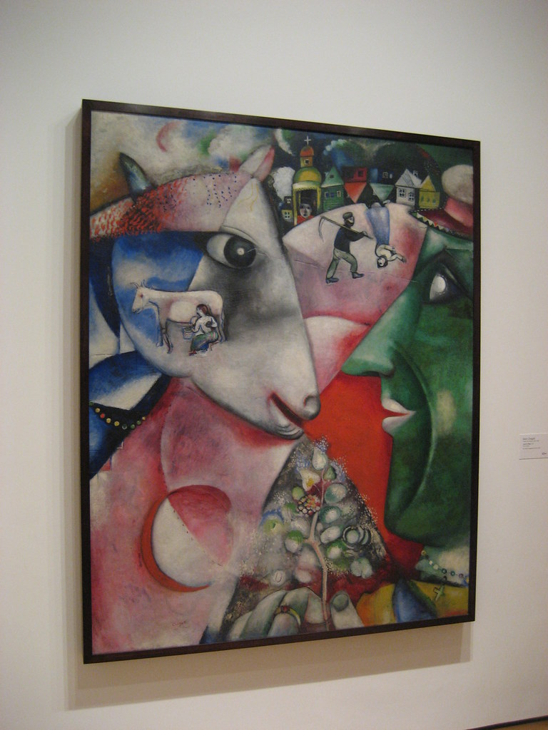 NYC - MoMA - Marc Chagall's I and the Village | Marc Chagall… | Flickr