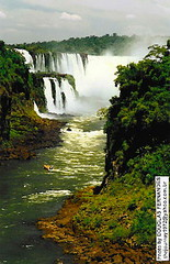 SOUTH AMERICA: Iguazu River, natural border between Brazil and Argentina. | by thejourney1972 (South America addicted)