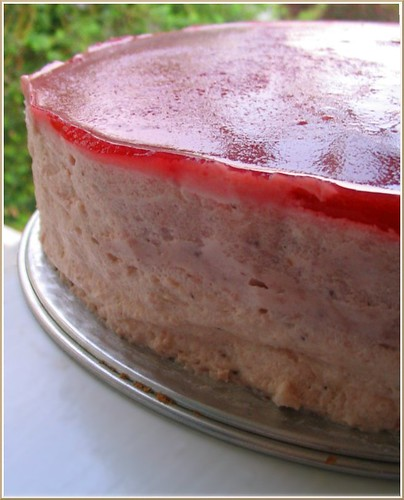 Strawberry Mirror Cake | by Nook & Pantry