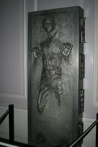 Han Solo frozen in Carbonite | by Strangelove 1981