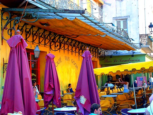 cafe van gogh arles france cafe in arles stephen curtin flickr. Black Bedroom Furniture Sets. Home Design Ideas