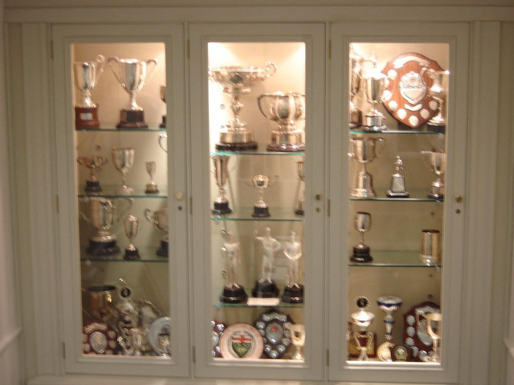 Trophy Cabinet Portsmouth Grammar School