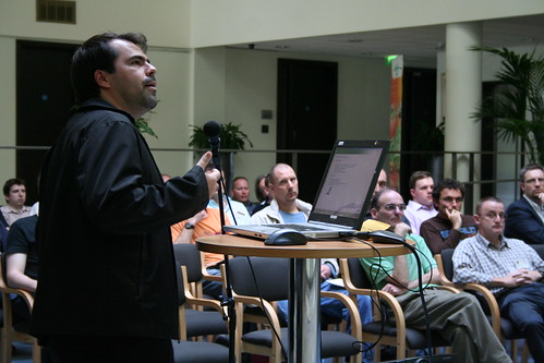 Mozilla's Marcio Galli speaking at it@cork | by Tom Raftery