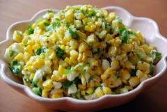 fire roasted corn salsa | by Anne Skoogh