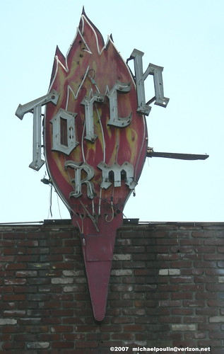 Torch Room sign Norwalk California | by Dying In Downey